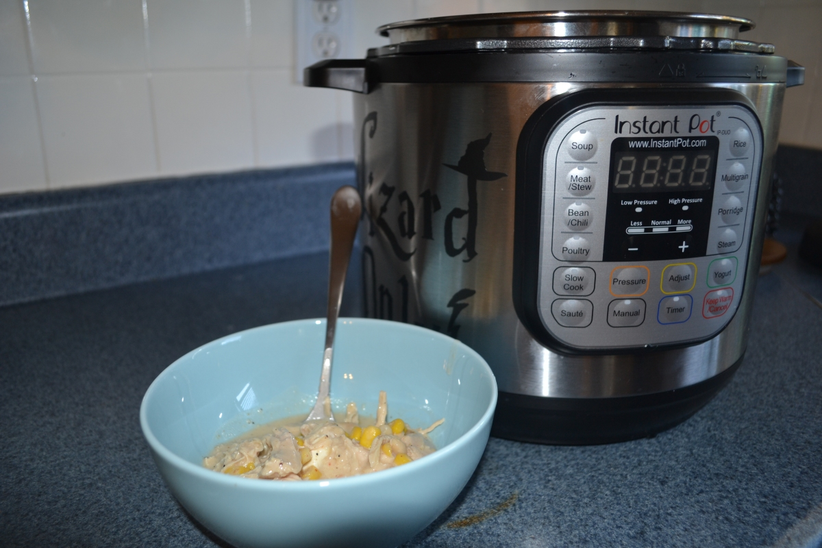 Delicious White Chicken Chili- Instant Pot