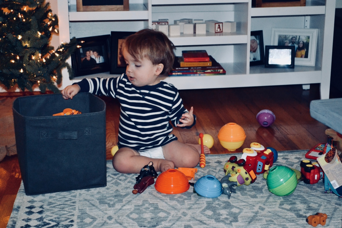 Organization in the midst of a toddler