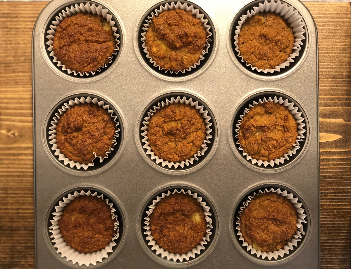 Banana Muffins (Whole30, Paleo)